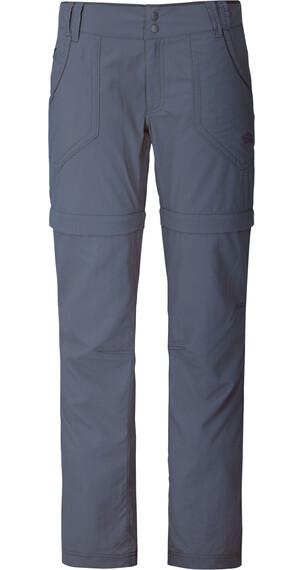 The North Face W's Horizon Convertible Plus Pant Vanadis Grey